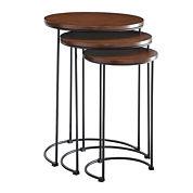 Carolina Chair & Table 3-pc. Nesting Tables