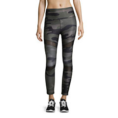 Xersion HIgh Waist Mesh Knit Workout Leggings