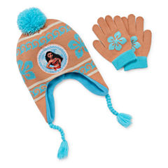 Disney Girls Moana Cold Weather Set-Big Kid