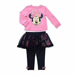 Disney Girls Skirt Set NB-24M
