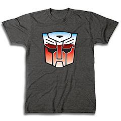 Short Sleeve Transformers Graphic T-Shirt
