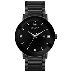 Bulova Mens Black Bracelet Watch-98d144
