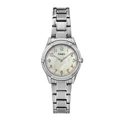 Timex® Easy Reader Womens Stainless Steel Bracelet Watch TW2P76000