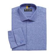 Stacy Adams® Kyoto Patterned French Cuff Dress Shirt