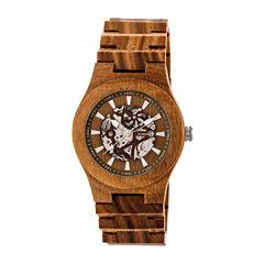 Earth Wood Gobi Unisex Green Bracelet Watch-Ethew4304