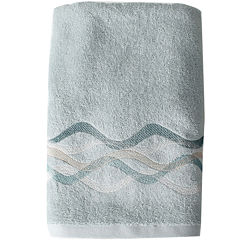 Sketchbook Waves Bath Towel