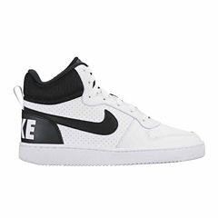 Nike® Court Borough Boys' Mid-Top Sneakers - Big Kids