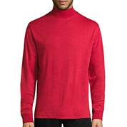 St. John's Bay® Long-Sleeve Mockneck Shirt
