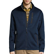 ST. JOHN'S BAY® LONG-SLEEVE TERRA TEK FULL-ZIP SWEATER FLEECE