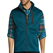 St. John's Bay® Terra Tek Sweater Fleece Vest