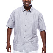 Havanera™ L Shape Embroidered Short Sleeve Shirt