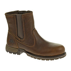 CAT® Freedom Womens Leather Work Boots - Wide Width