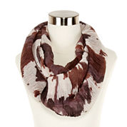 Lava Lamp Ruched Infinity Scarf