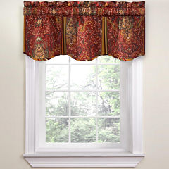 Waverly® Byzance Rod-Pocket Tailored Valance
