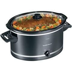 Hamilton Beach® 8-qt. Oval Slow Cooker + Lid Rest