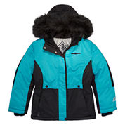 Zero Xposur Girls Heavyweight Ski Jacket-Big Kid