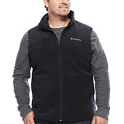 Columbia® Flattop Ridge Fleece Vest - Big & Tall