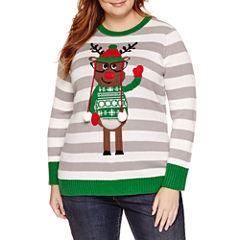 Tiara International Christmas Sweater - Plus