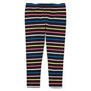 Okie Dokie Stripe Denim Leggings - Toddler