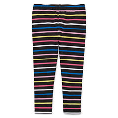 Okie Dokie Stripe Denim Leggings - Toddler Girls