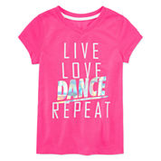 Xersion Girls Graphic T-Shirt-Preschool