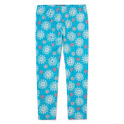 Disney By Okie Dokie Moana Solid Knit Leggings - Preschool
