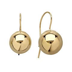 Infinite Gold™ 14K Yellow Gold Polished Ball Drop Earrings