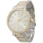 Olivia Pratt Womens Two Tone Bangle Watch-15267twotone