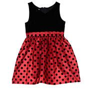 Marmellata Sleeveless Party Dress - Preschool