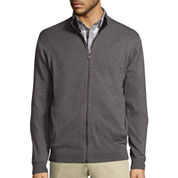 Claiborne Full Zip Sweater