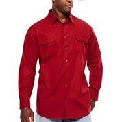 The Foundry Big & Tall Supply Co.™ Long-Sleeve Modern Roll-Tab Shirt