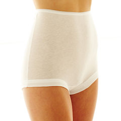 Underscore® 3-pk. Cotton Band Leg Cotton Briefs