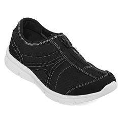 Strictly Comfort Jacey Zip-Up Sneakers