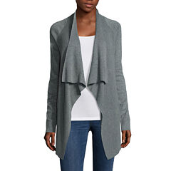 a.n.a® Long-Sleeve Basic Flyaway Cardigan