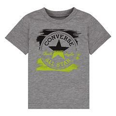 Converse Short-Sleeve Painted Patch Tee - Preschool Boys 4-7