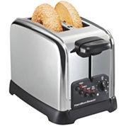 Hamilton Beach® Classic Chrome 2-Slice Toaster