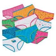 Total Girl® 10-pk. Days of the Week Hipsters Panties - Girls 4-14