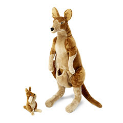 Melissa & Doug® Kangaroo and Joey Plush