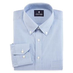 Stafford® Non-Iron Cotton Oxford Dress Shirt - Big & Tall