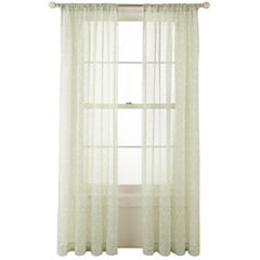 MarthaWindow™ Dynasty Rod-Pocket Sheer Panel