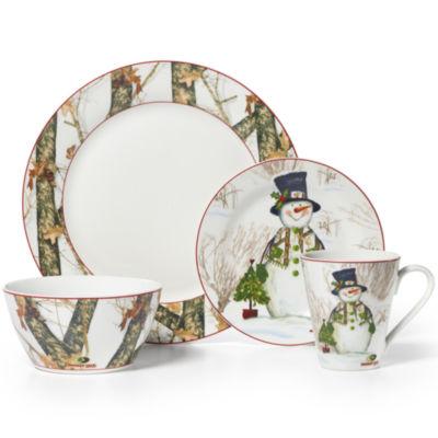 cool mossy oak snowman holiday pc porcelain dinnerware set with jcpenney dinnerware  sc 1 st  thisnext.us & Jcpenney Dinnerware. Elegant Pfaltzgraff Juliana Blue Pc Dinnerware ...