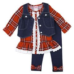 Nanette Baby Legging Set-Preschool Girls