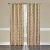 Eclipse Tatum Blackout Grommet-Top Curtain Panel