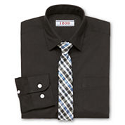 IZOD® Shirt and Clip-On Tie Set - Boys 8-20 and Husky