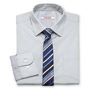 IZOD® Shirt and Clip-On Tie Set - Boys 7-20