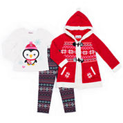 Little Lass Legging Set-Preschool Girls