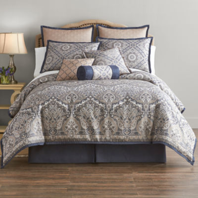 home expressions newport 7pc comforter set