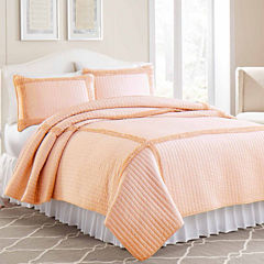 Solid Frame Square Quilt Set