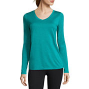 Xersion™ Long-Sleeve Mélange Tee