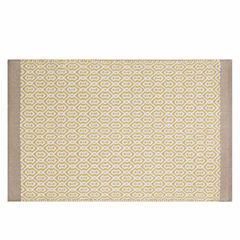INK+IVY Charlie Woven Cotton  Bath Rug